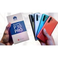 Huawei P30 Pro: 6.47-inch Screen, 8GB RAM, 128GB Memory, 4G LTE,  CRYSTAL,WHITE,MYSTIC BLUE