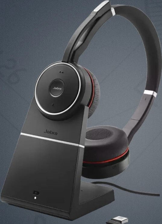 Jabra Evolve 75 Ms Wireless Headset Stereo Includes Link 370 Usb Adapter Bluetooth Headset With World Class Speakers Active Noise Cancelling Microphone All Day Battery Buy Best Price In Oman Muscat Seeb Salalah