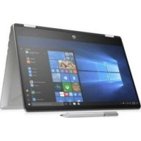 HP Pavilion x360 (14-dh1029ne) Flip Touch Home Laptop  (Intel® Core™ i7-10510U Processor, 16GB Memory, 512GB SSD, 2GB Graphic, 14-inch FHD Touch Display, WLAN + Bluetooth + Camera + FP, Windows 10 Home, Silver)