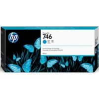 Genuine HP 746 Cyan Ink Cartridge (300ml)