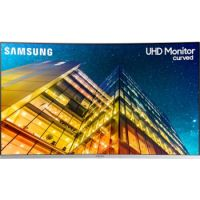 "Samsung 32"" UHD Curved Monitor with 1 Billion colors"