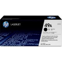Genuine HP 49A Black Toner Cartridge (2,500 pages)