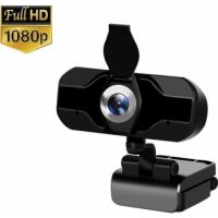 USB Standard PC WebCam (Wide-angle & HD 1080P Resolution)