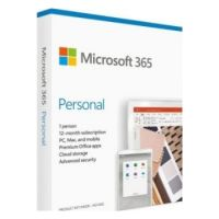 Microsoft Office 365 Personal for Mac/Windows, English Subscription, Middle East Version, 1 Year License