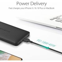RAVPower 10,000mAh PD 18W QC 3.0 Power Bank Offline (Black)