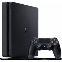Sony PlayStation (PS4) Console 1TB Black + Dual Shock 4 Controller + Headet + 3 Games