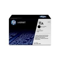 HP 11A Black Original LaserJet Toner Cartridge (6,000 Pages)