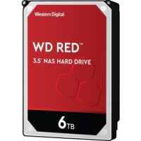 "WD Red 6TB 3.5"" SATA 6Gb/s NAS Hard Drive"