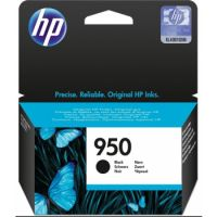 Genuine HP 950 Black Ink Cartridge (1,000 Pages)