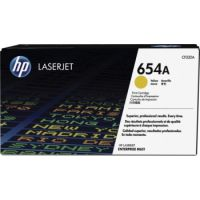 Genuine HP 654A Yellow Toner Cartridge (15,000 pages)