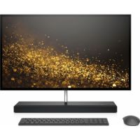 HP ENVY 27-b200ne All-in-One Touch Home PC (Core i7-8700T, 16GB Memory, 1TB Hard Drive & 256GB SSD, GTX 1050 4GB Graphic, 27-inch QHD Touch Screen, Wireless Keyboard & Mouse, WLAN + Bluetooth + Camera, Wind