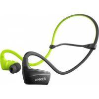 Anker SoundBuds Sport NB10 Bluetooth Headphone Black/Green A3260HM2