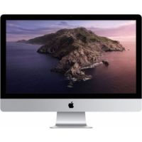 21.5‑inch iMac (2020) with Retina 4K display: 3.6GHz quad-core 8th-generation Intel Core i5 processor, 8GB, 256GB SSD, English+Arabic KBD - Silver