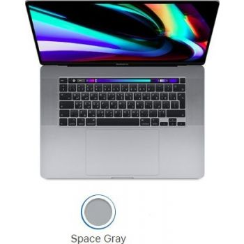 16-inch MacBook Pro (2019) with Touch Bar: 2.3GHz 8-core 9th-generation IntelCorei9 processor, 16GB, 1TB, English+Arabic KBD - Space Grey or Silver