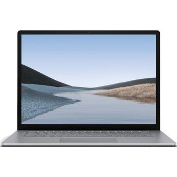 "Microsoft Surface Laptop3 - 13.5"" Commercial (Platinum Color): Quad-core 10th Gen Intel® Core™ i7-1065G7 Processor, 16GB LPDDR4x RAM, 256GB SSD, Intel® Iris™ Plus Graphics, 13.5"" multi-touch Display, English-Arabic Keyboard, Windows 10 Pro SC Arabic"