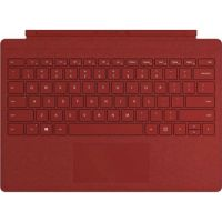 Microsoft Surface Pro Signature Type Cover, English Arabic Keyboard, Poppy Red Color