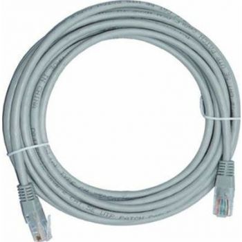 D-Link Cat6 UTP 24 AWG PVC Round Patch Cord - 15m - Grey Colour