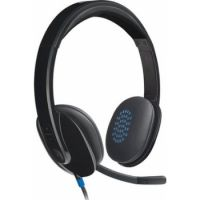 Logitech H540 Headset USB Laser-tuned Speakers with On-ear Controls