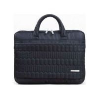 "Kingsons Electra Series 15.6"" Laptop Shoulder Bag - Black"