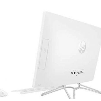 HP 22-C0021NE All-in-One Home PC (Intel Core i5-9400T Processor, 8GB Memory, 512GB SS Storage, DVD-RW, 21.5-inch FHD Display , 2GB NVIDIA Graphics, WLAN + Bluetooth + Camera, Windows 10 Home, White)