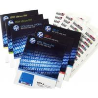HP Ultrium LTO-6 LTO6 RW Tape Barcode Label Pack (100 Data Labels + 10 Cleaning Labels)