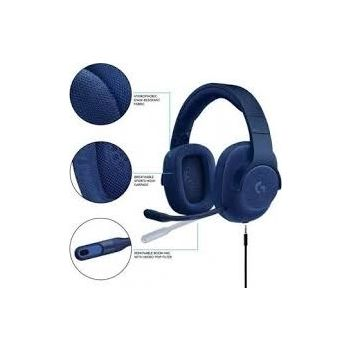 Logitech G433 7.1 Wired Surround Gaming Headset (Blue Camo)