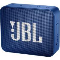 JBL Go 2 Mini Portable Bluetooth Speaker - Deep Blue Sea