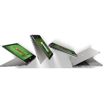 ASUS TP401MA-BZ228TS Flip Touch Home Laptop (Intel Celeron N4020 1.1 Ghz, 4GB RAM,  64GB eMMC, 14.0'' HD Screen TOUCH N FLIP,  Intel HD Graphics, Wireless, BT, Camera, Windows 10 Home. Keyboard English-Arabic, LIGHT GREY)