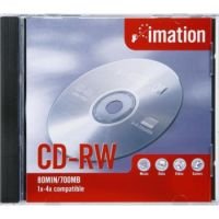 CDRW IMATION 10PCS WITH CASE 700MB