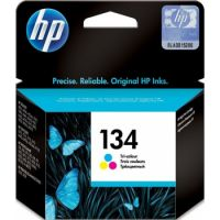 HP 134 Tri-color Original Ink Cartridge (560 Pages)