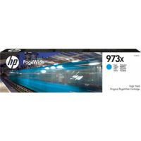 HP 973X High Yield Cyan Ink Cartridge (7,000 Pages)
