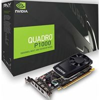 NVIDIA Quadro P1000 4GB GDDR5 128bit PCI Express 3.0 x16 Graphics Card
