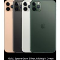 Apple iPhone 11 Pro Max (2019): 6.5-inch, 4GB Memory, 256GB Memory, 12MP CAM, LTE > Space Grey, Silver, Midnight Green, Gold