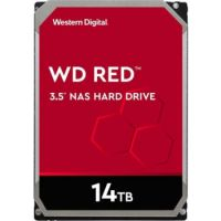 "WD Red 14TB NAS Internal Hard Drive - 5400 RPM Class, SATA 6Gb/s, CMR, 512MB Cache, 3.5"""