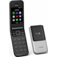 Nokia 2720 Flip ,2.8 Inch,4GB Memory, 512MB Ram, Wifi+Cellular - Black