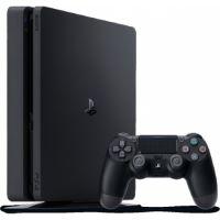 Sony PlayStation (PS4) Console 500 GB Black + Dual Shock 4 Controller + Headet + 3 Games