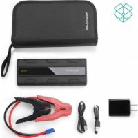 RAVPOWR Jump Starter 14000mAH with QC3.0 Black
