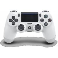 Dualshock 4 Wireless Controller for PlayStation 4 (Glacier White)
