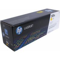 Genuine HP 305A Yellow Cartridge (2,600 pages)