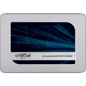 """Crucial MX500 2TB 3D NAND SATA 2.5"""" 7mm (with 9.5mm adapter) Internal SSD"""