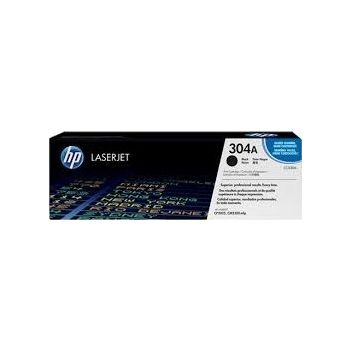 Genuine HP 304A Black Print Cartridge (3,500 pages)