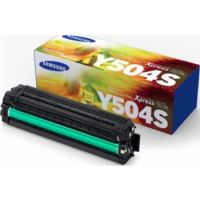 Genuine Samsung CLT-Y504S Yellow Toner Cartridge (1,800 Pages)