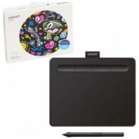 Wacom Intuos S Creative Pen Tablet – Small, Black   CTL-4100K-N
