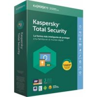 Kaspersky Total Security 2019 (3 Devices +1 Device for Free)
