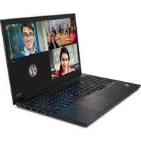 LENOVO THINKPAD E15-20RD001VAD Bussines Laptop (Intel Core i5-10210U Processor, 8GB Memory, 512GB SSD Storage, 15.6-inch FHD Dipaly, AMD RADEON Graphics 2GB, Wireless, Bluetooth, Camera, Fingerprint, DOS, Black)
