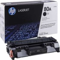 HP 80A Black Original LaserJet Toner Cartridge (2,700 pages)