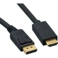 Kongda 1.8 meter Display Port to HDMI Port Cable