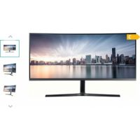 "Samsung 34"" 890 Series Business WQHD Curved Monitor"