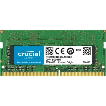 Crucial Crucial 8GB DDR4-2666 SODIMM NON-ECC 1.2V Laptop Memory