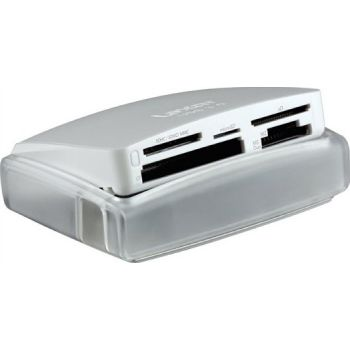 Lexar 25-in-1 USB 3.0 Multi-Card Reader (Glossy White)